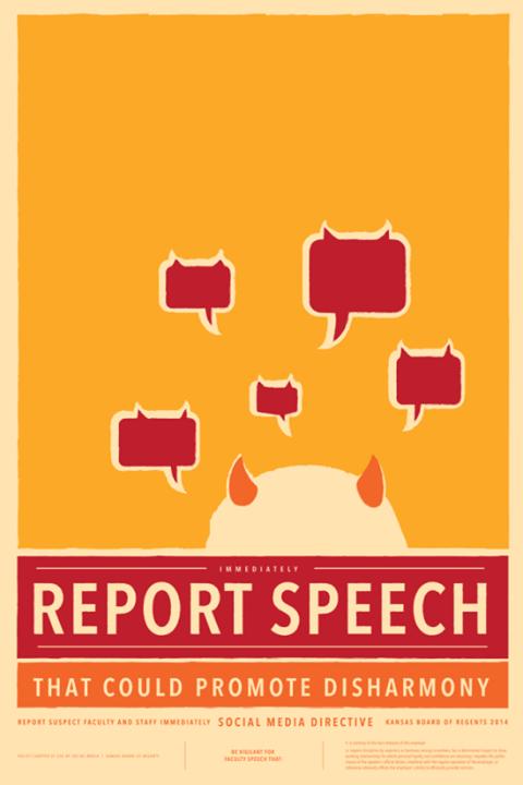 ReportSpeechPoster