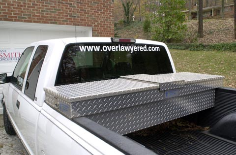 Truck with Overlawyered URL