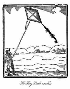 KiteWoodcut